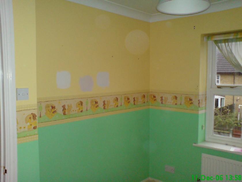 Nursery before