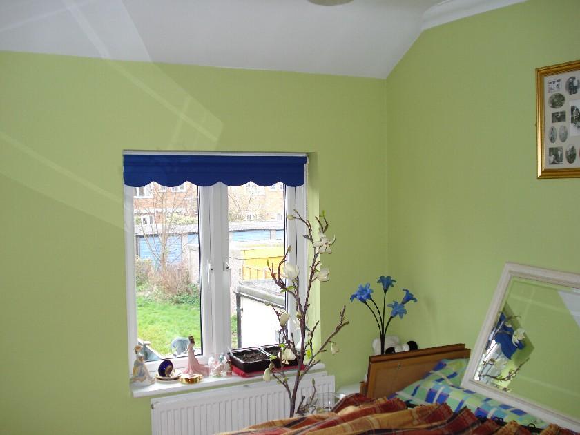 Green Bedroom Before