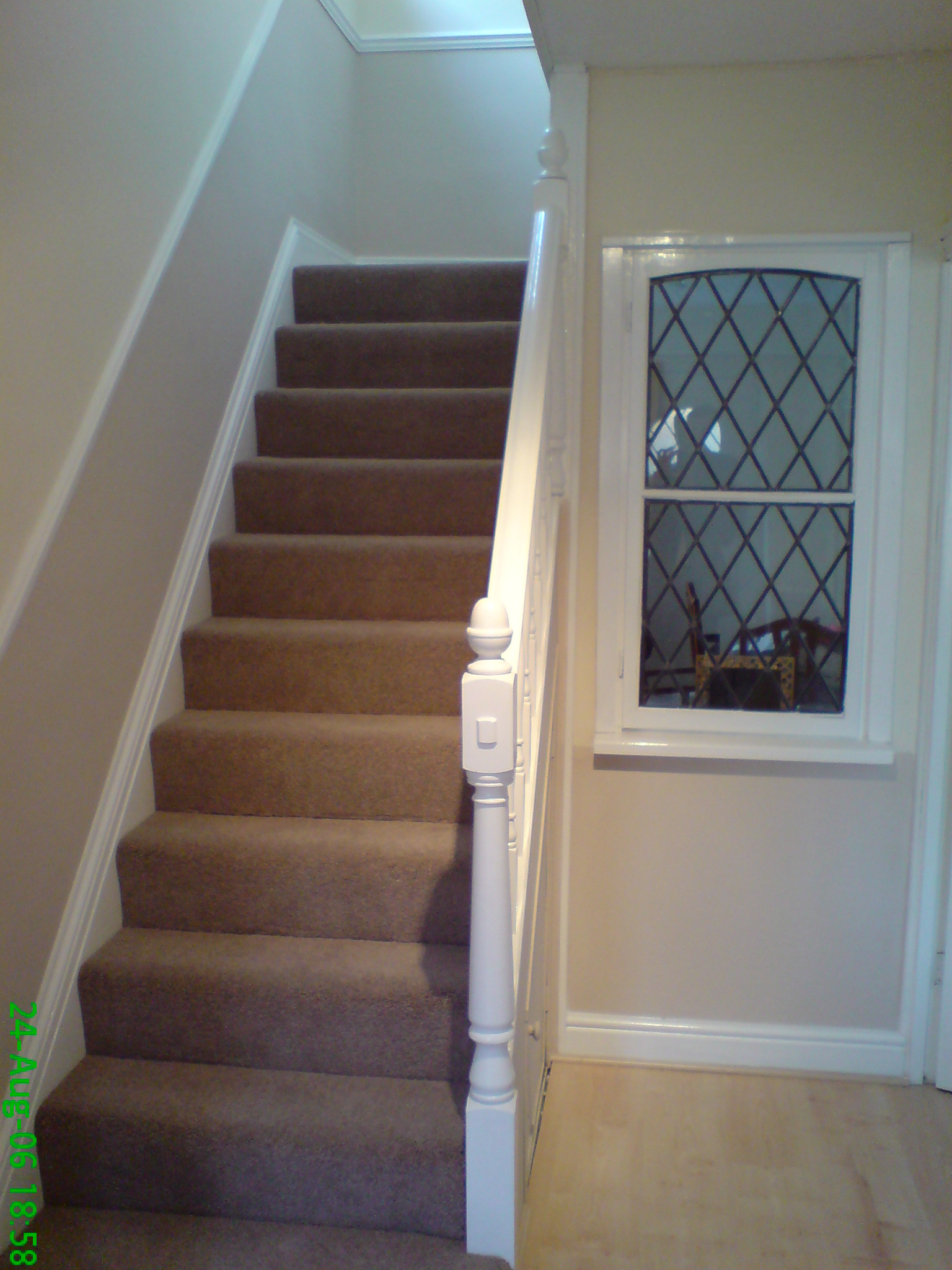 Hall stairs after