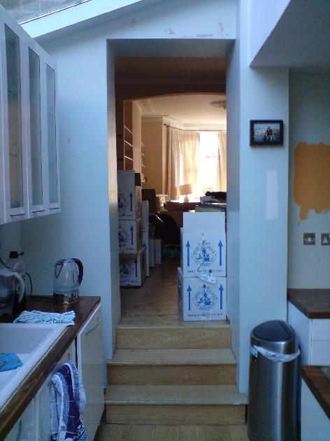Kitchen Diner Before