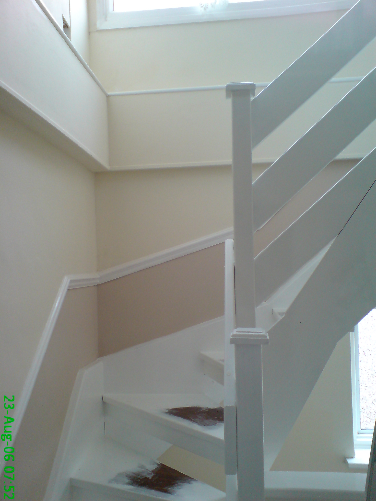 Loft stairs after